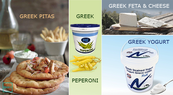 Griechische Köstlichkeiten