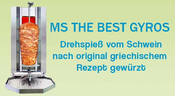 MS THE BEST GYROS Drehspiess